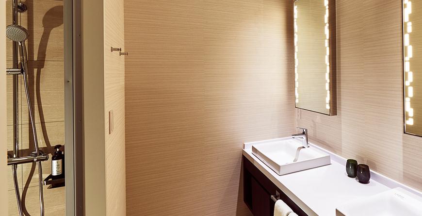 Classy Room Bathroom