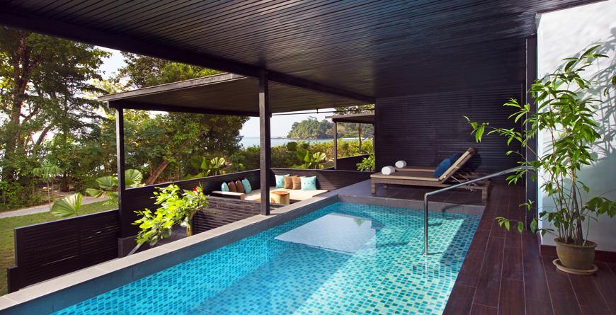 Executive Pool Suite Exterior