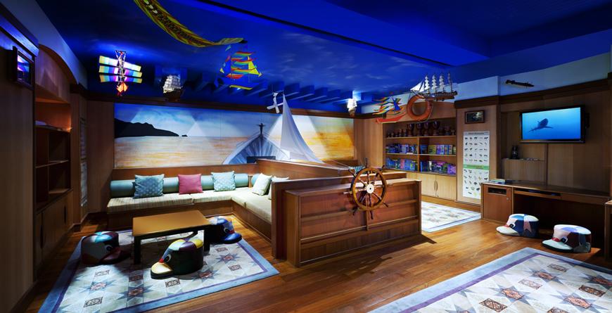 Young Explorers Club, Marine Inspired Corner
