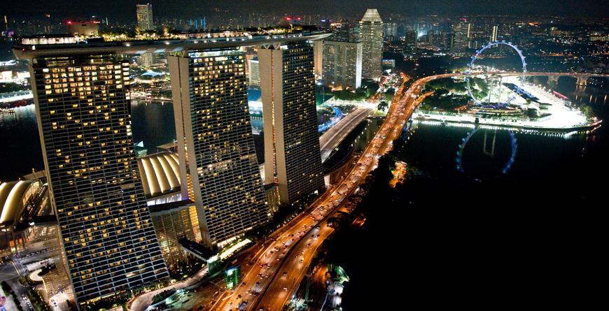 Marina Sands at Night