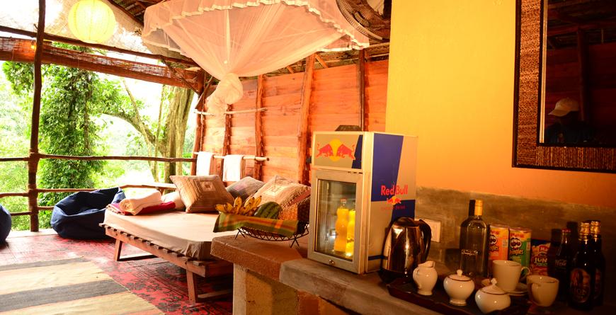 Cabin with en-suite
