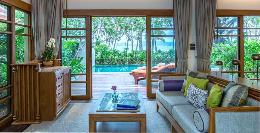 2 Bed Grand Deluxe Beachfront Villa