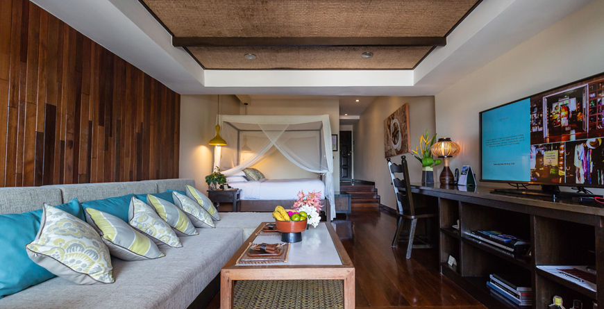 Beachfront Suite Bedroom