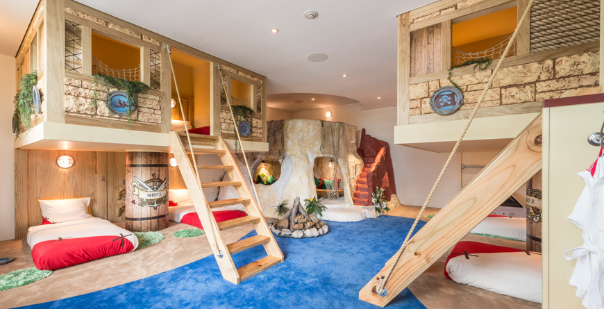 Kids Hotel Sleeping Bunks