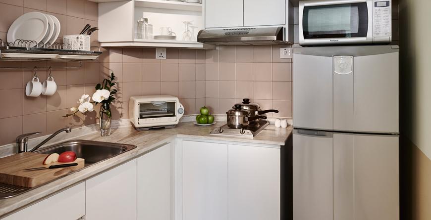 Serviced Suite Premier Kitchen