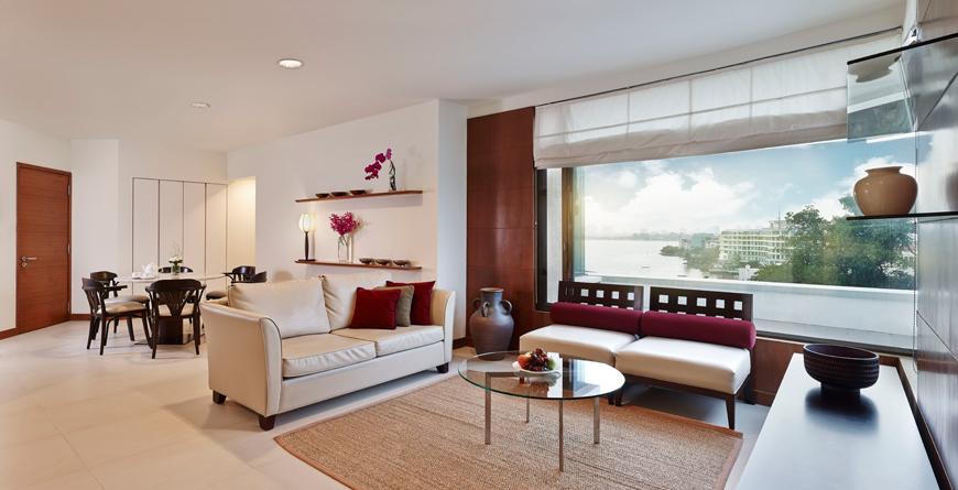 Serviced Suite Premier Living Room