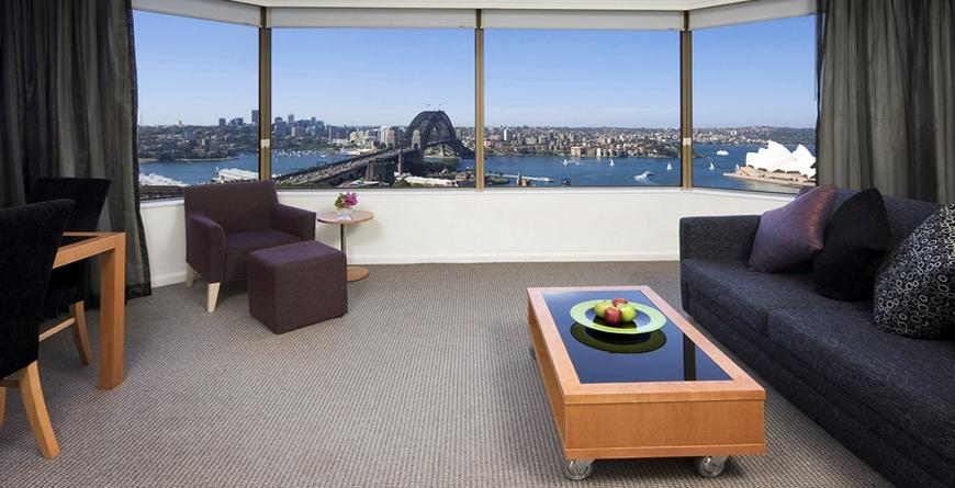 Bedroom Harbour View Sitting Room