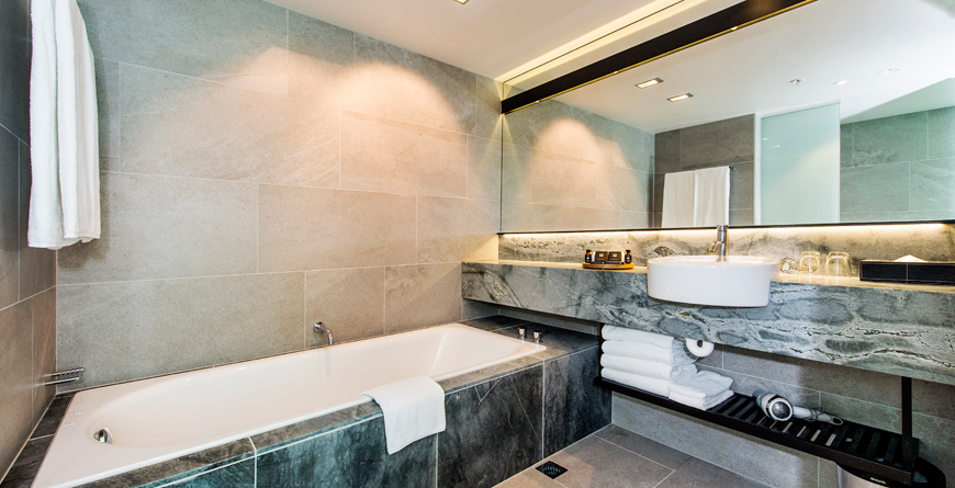 Sky City Grand Hotel Premium Luxury King Bathroom