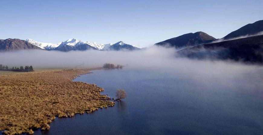 Lake Grasmere Morning Mist