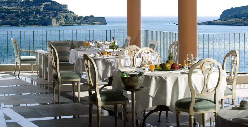 Dining at Tholos