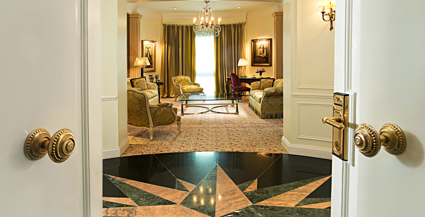 Hall, Presidential Suite