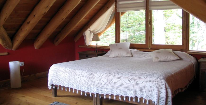 Mountain Villa Loft Bedroom