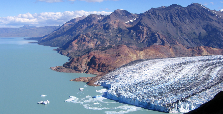 Nearby Glacier
