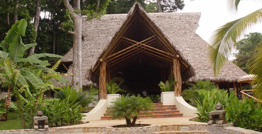 Main Lodge and Restaurant, Credit Kim Spier