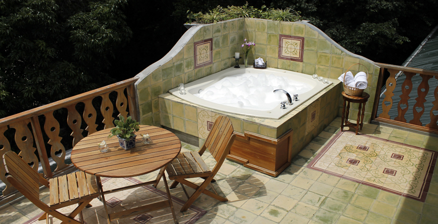 Sunset Room Terrace and Jacuzzi
