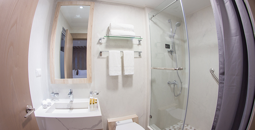 Golden Suite Bathroom