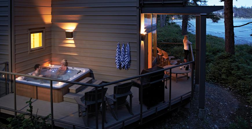 Beach House Hot Tub