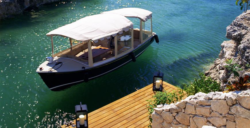 Boat on Lagoon