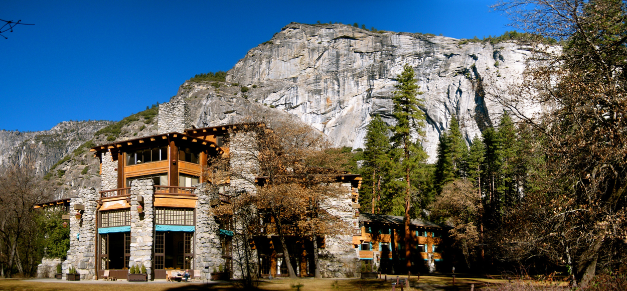 The Ahwahnee Yosemite Exterior