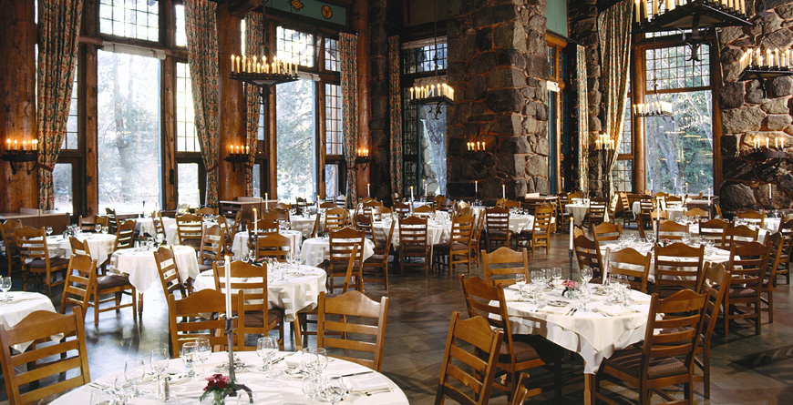 The Ahwahnee Yosemite Dining Room
