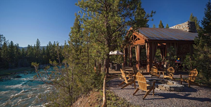Cliffside Camp Pavilion Dining