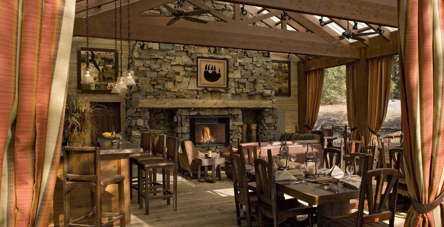 Creekside Camp Pavilion Dining