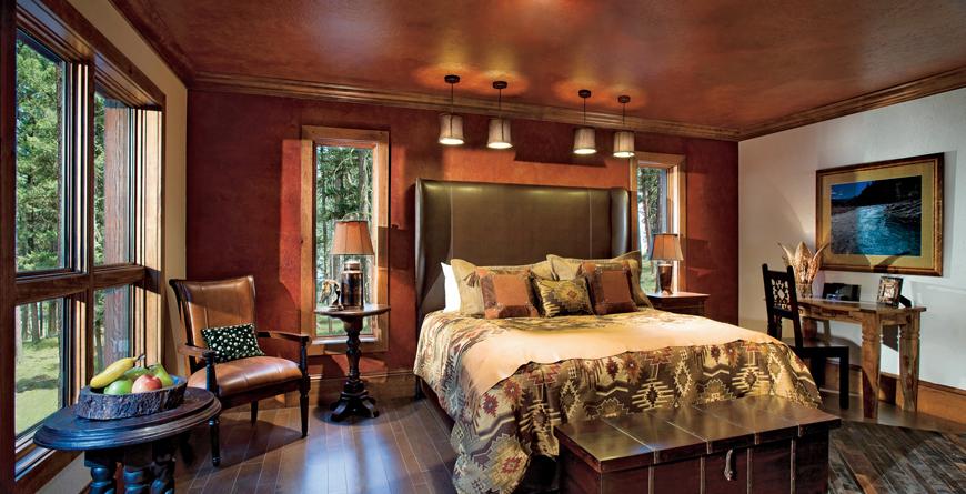 Wilderness Estates Master Bedroom