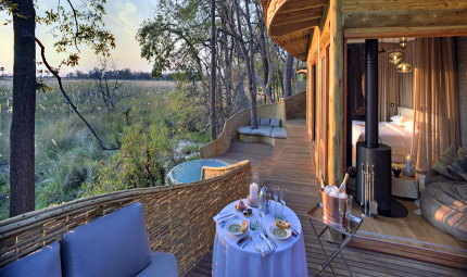 & Beyond Sandibe Okavango Safari Lodge