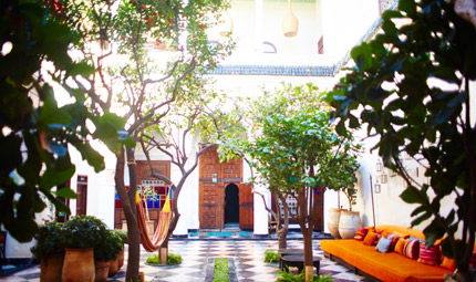 El Fenn Courtyard, courtesy of David Lofthus