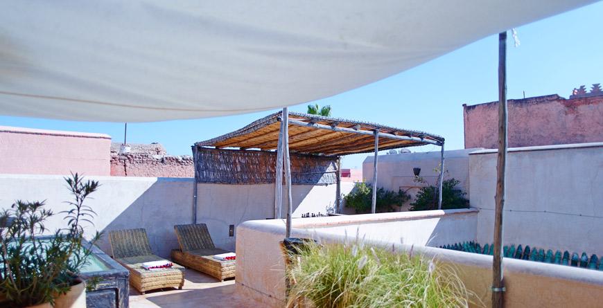 Riad Vanessa Terrace, courtesy of David Luftus