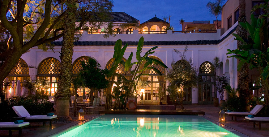 Les jardins de la m dina bushbaby travel inspiring for Le jardin de la medina