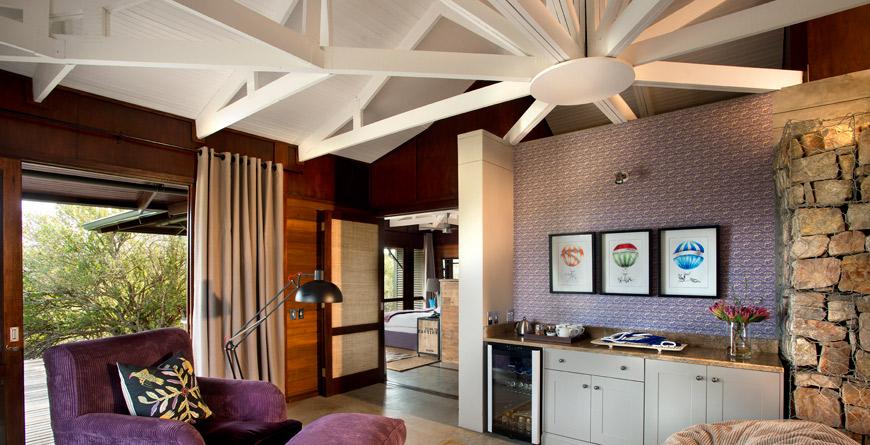 Kwandwe Ecca Suite Lounge
