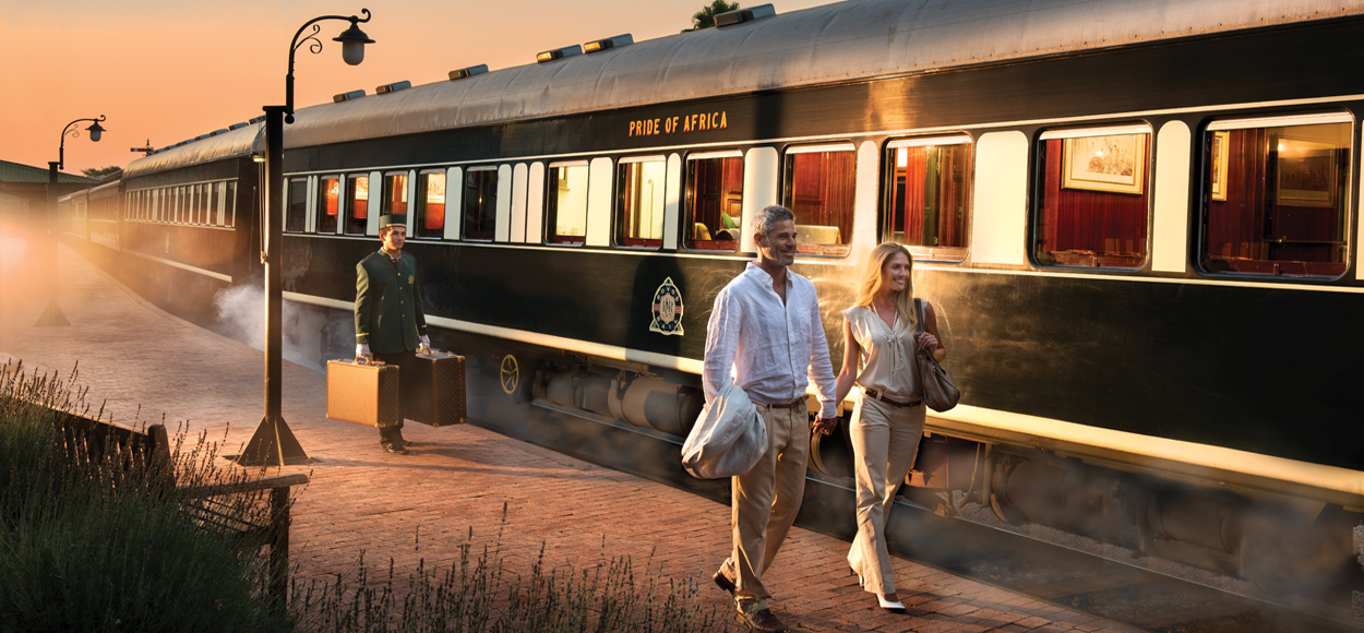Rovos Rail - Pretoria to Vic Falls