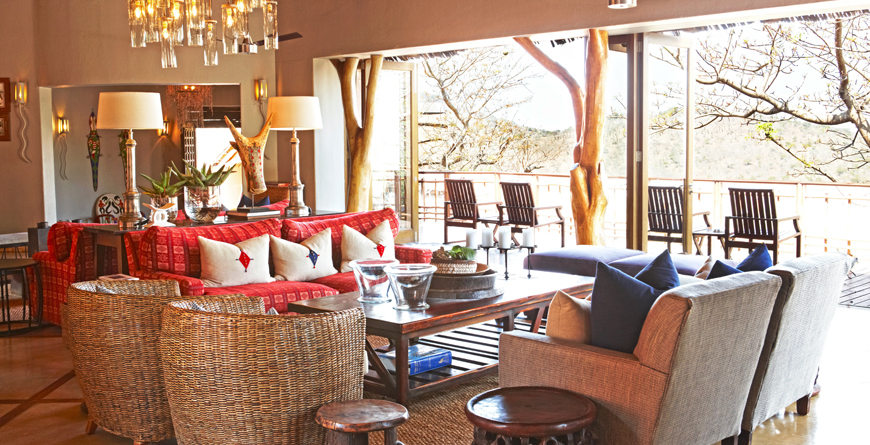 Thanda Safari Lodge Lounge