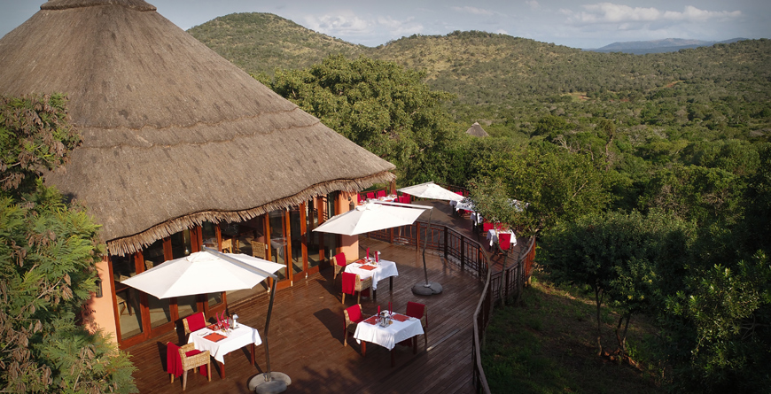 Breakfast at Thanda Safari Lodge