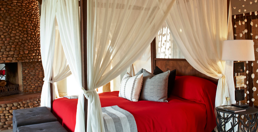 Thanda Safari Lodge Bedroom