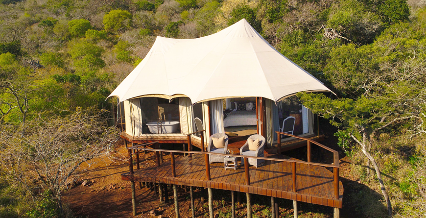 Tented Camp Exterior Tent