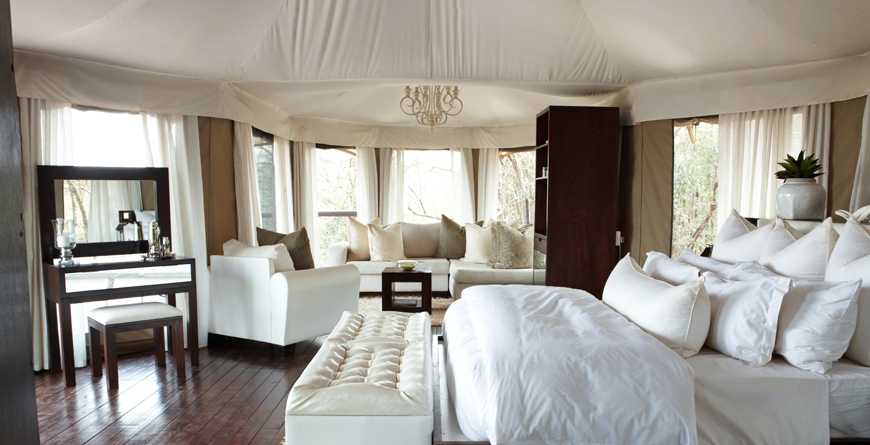 Tented Camp Jabula Interior
