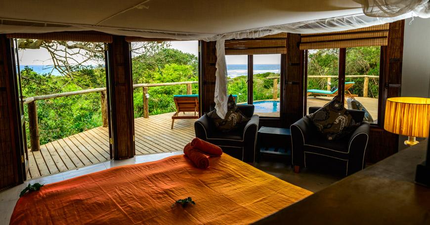 Deluxe Ocean View Suite Interior