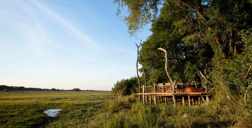 Musekese Camp Deck Views