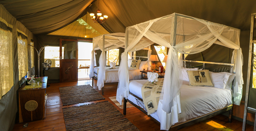 Saddlebill Tented Suite