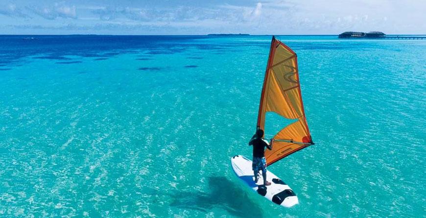 Wind-surfing