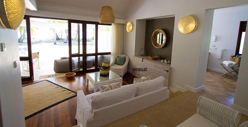 Beach Suite Living Area
