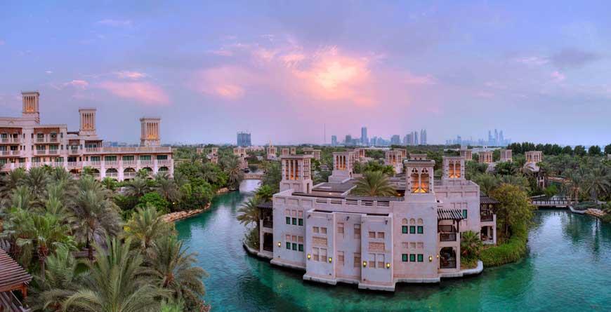 Dar Al Masyaf aerial view