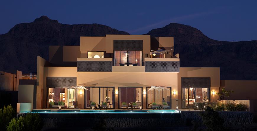 Mountain Villa Exterior
