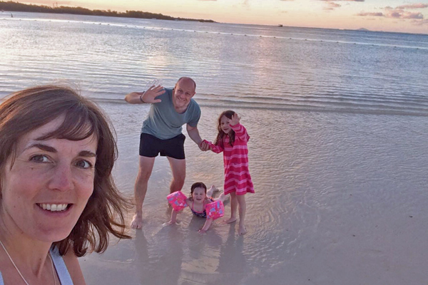 Mauritius LUX Belle Mare Family Holiday Sunset
