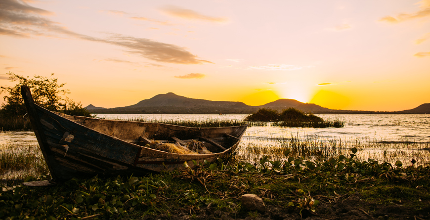 Lake Victoria Boat Courtesy Shutterstock