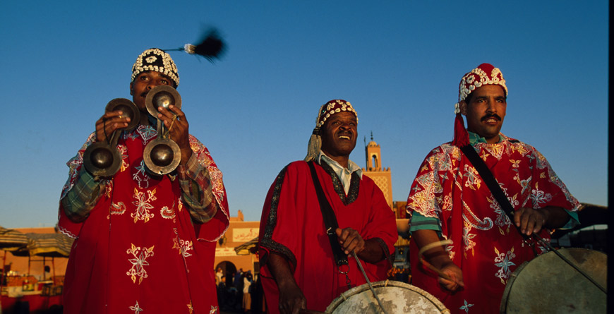 Entertainers, Marrakech