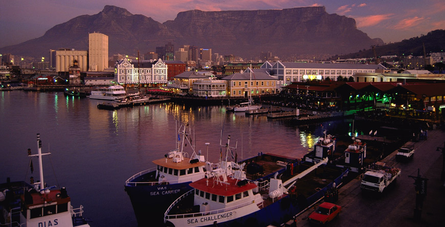 The Victoria & Albert Waterfront, South Africa
