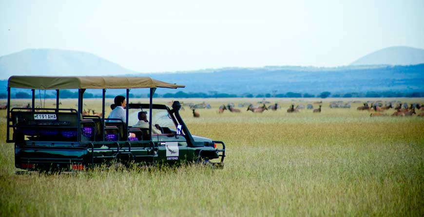 &Beyond Serengeti Grumeti Lodge Sundowner